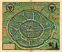 tablou harta antica (205)