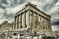 tablou acropola, atena, grecia (104)