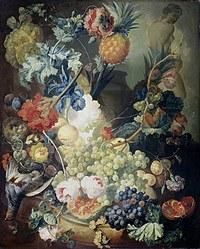 Tablou canvas flori, reproducere pictura (110), 1774
