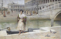 Tablou canvas antonio ermolao paoletti - a venetian beauty