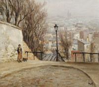 tablou marcel dyf - over the city