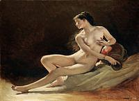 tablou augustin pils - nud (study)