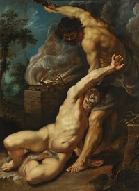tablou peter paul rubens - cain slaying abel
