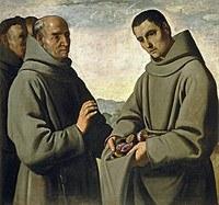 tablou francisco de zurbaran - holy diego de alcala (1658)