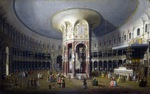 Tablou canaletto - ranelagh, interior of the rotunda