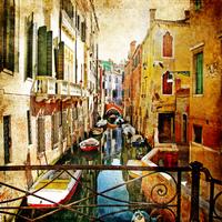 tablou venetia, vintage, italia (165)