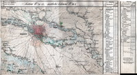 tablou harta veche bucuresti (1)
