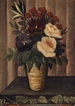 tablou henri julien felix rousseau - still life with flowers