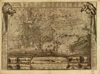 tablou palermo, sicily, 1700