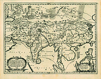 tablou harta veche asia (1)