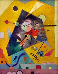 Tablou canvas kandinsky - silent harmony, 1924