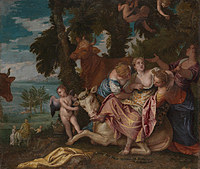 tablou paolo veronese - the rape of europa