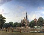 tablou heyden, jan van der - view of the westerkerk, amsterdam