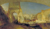 tablou joseph mallord william turner - forum romanum