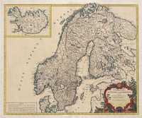 tablou Norvegia, Suedia, 1793