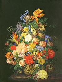 tablou flori, reproducere pictura (102), 1845