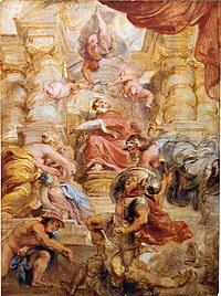 tablou rubens- english king james i (1632)