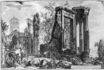 tablou piranesi - roma antica, alb negru 37