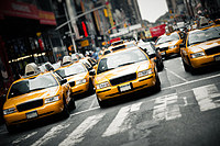 Tablou canvas new york, taxi (5)
