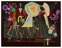 tablou wassily kandinsky - tensions calmées, 1937