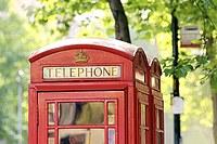 Tablou canvas cabina telefonica, londra (1)