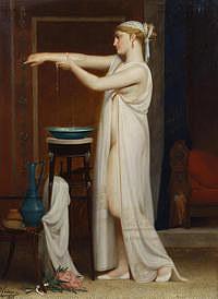 tablou eugene verdyen - roman bather