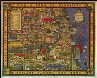 tablou harta mafiei din chicago