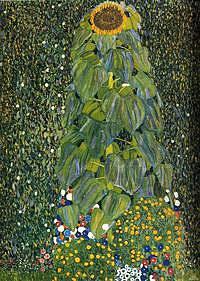 Tablou canvas Gustav Klimt - sunflower (1906)