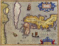 tablou harta veche japonia (4)
