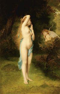 tablou emile levy - venus and cupid