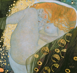 Tablou canvas Gustav Klimt - danae