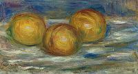tablou pierre auguste renoir - three lemons, 1915