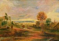 Tablou canvas rubens - evening landscape