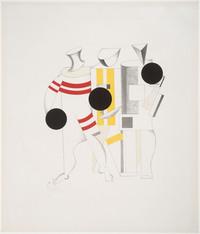 Tablou canvas el lissitzky - sportsmen, 1923