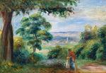 Tablou canvas renoir - landscape 01
