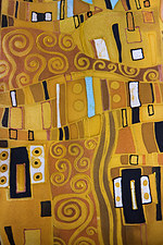 Tablou canvas abstract, klimt style (2)