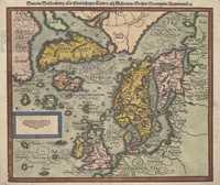 Tablou canvas Scandinavia, 1588