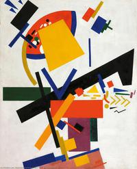 Tablou canvas kazimir malevici -   suprematism 1