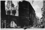 tablou piranesi - roma antica, alb negru 21