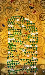 tablou Gustav Klimt - tree of life (2)
