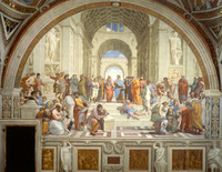 tablou raffaello - the school of athens