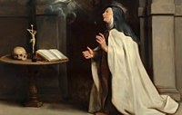 tablou rubens - the appearance of the holy spirit to the saint teresa of avila