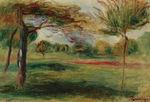 Tablou canvas renoir - landscape 02