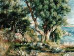 tablou renoir -  landscape, 1883
