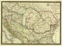 tablou Harta veche Dacia (2)