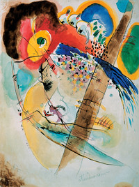 tablou kandinsky - exotic birds, 1915