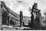 tablou piranesi - roma antica, alb negru 54