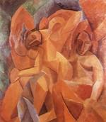tablou picasso- three women [1907]
