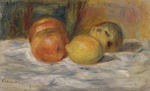 tablou renoir - still life with fruit 02