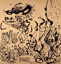 Tablou canvas jackson pollock - number 5